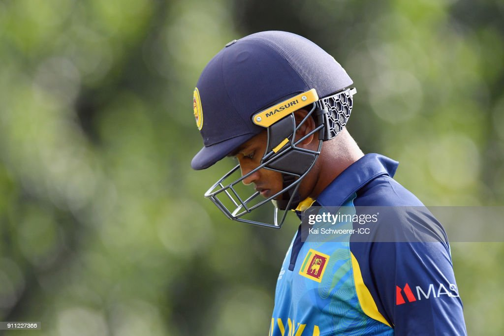 ICC U19 Cricket World Cup - Plate Final: Sri Lanka v West Indies