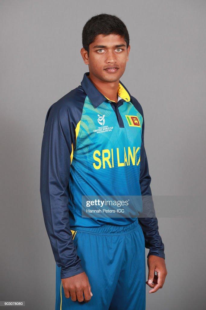 Sri Lanka ICC U19 Cricket World Cup Headshots Session