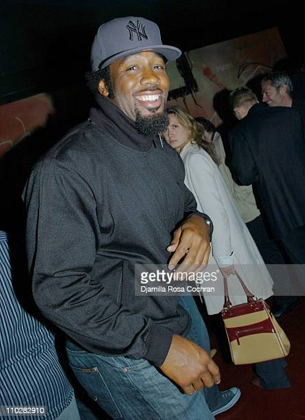 Dhani Jones during 3 Arts Entertainment Gotham Magazine and Vincent Longo Celebrate the NY Upfronts at Stereo in New York City New York United States