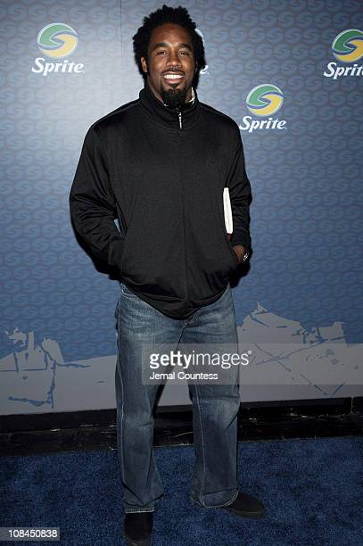 Dhani Jones during Sprite Street Couture Showcase - Arrivals and Afterparty at Guastavino's in New York City, New York, United States.
