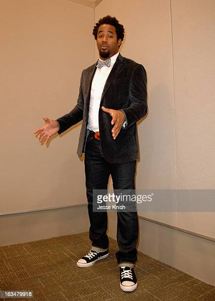 """Dhani Jones, host of Spike.com attends The New ROI: Return On Influence - How Influencers Should Leverage Their """"Social Capital"""" In The Startup World..."""