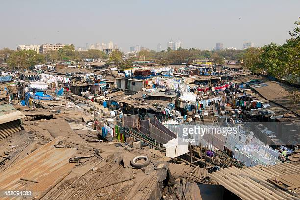 dharavi slum - dharavi stock pictures, royalty-free photos & images
