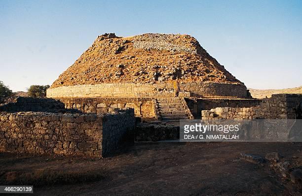 Dharmarajika, stupa, Taxila , 3rd-2nd century BC.