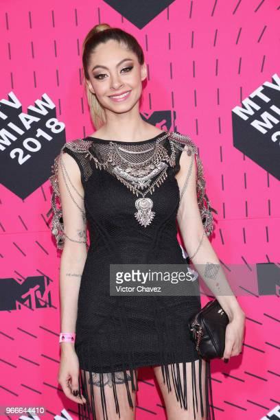 Dhasia Wezka attends the MTV MIAW Awards 2018 at Arena Ciudad de Mexico on June 2 2018 in Mexico City Mexico