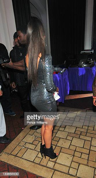 Dhea Sodano attends Reginae Carter's 13th Birthday party at The Callanwolde Mansion on November 19 2011 in Atlanta Georgia