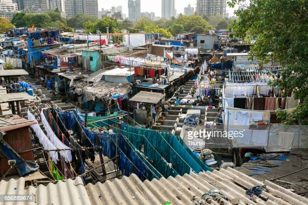 Dhobi Ghat Laundry, Mumbai, India