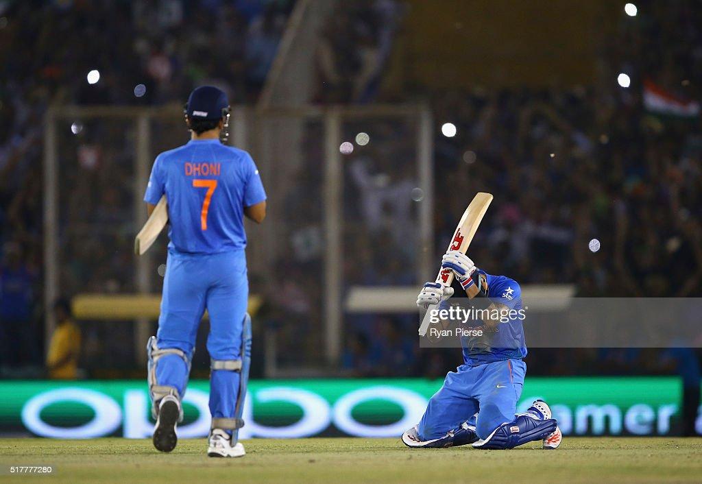 ICC World Twenty20 India 2016: India v Australia : News Photo