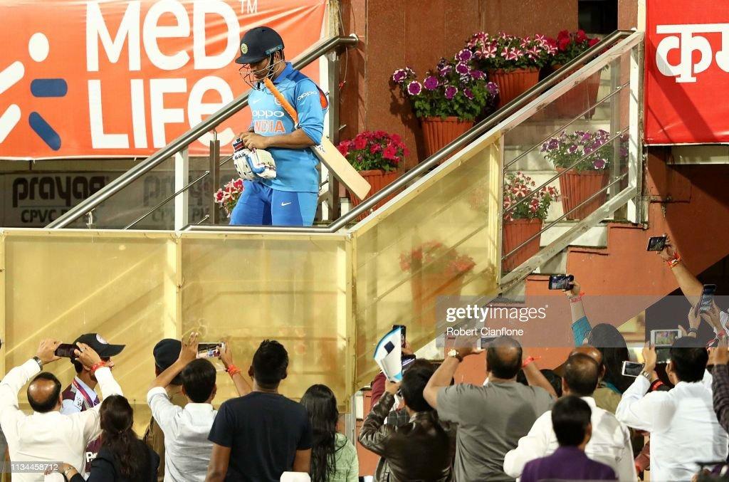 India v Australia - ODI Series: Game 3 : News Photo