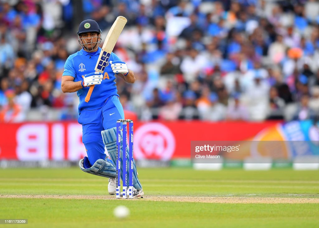India v New Zealand - ICC Cricket World Cup 2019 Semi-Final : News Photo