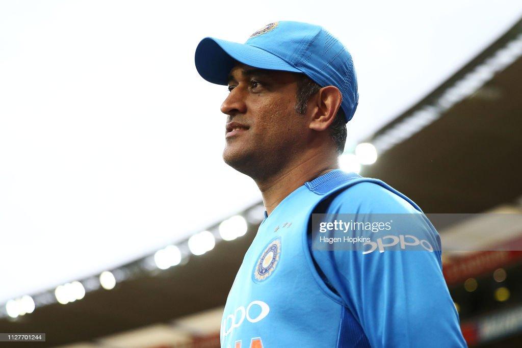 New Zealand v India - International T20 Game 1 : Fotografia de notícias