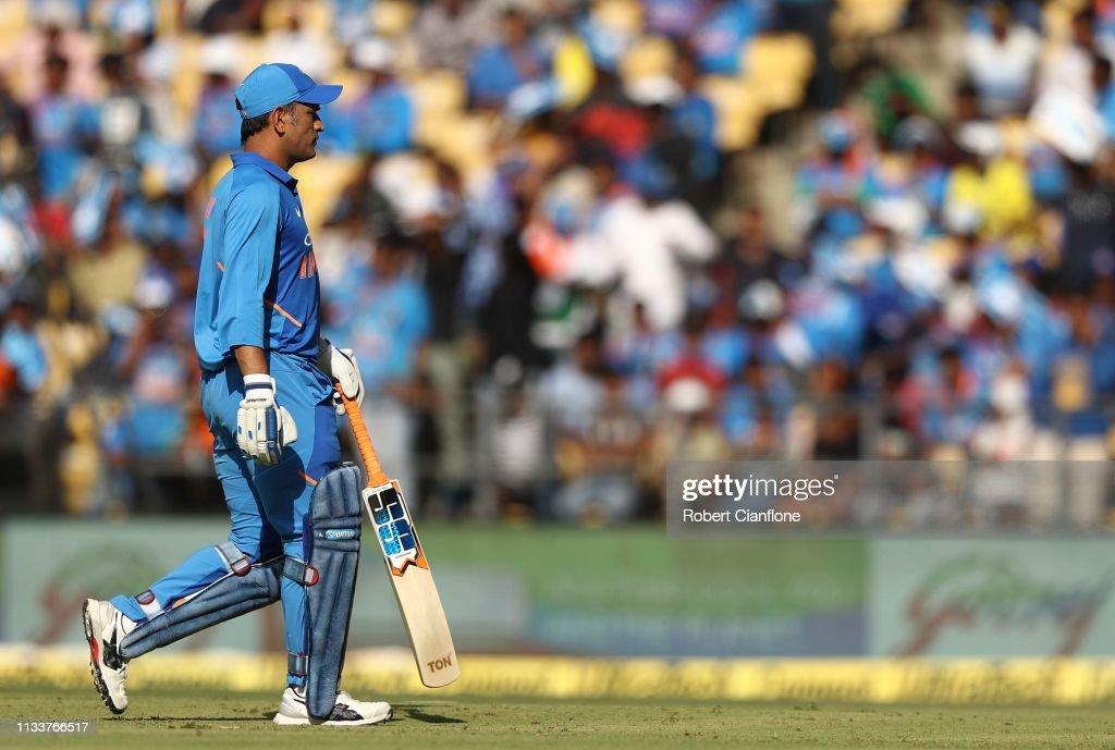 India v Australia - ODI Series: Game 2 : News Photo