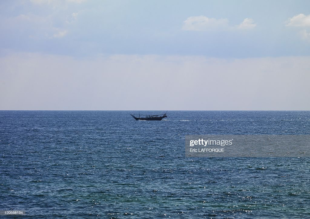 Dhow In Masirah Island, Oman On December 18, 2009 - : News Photo