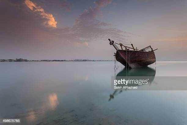 Dhow Sunset at Kuwait