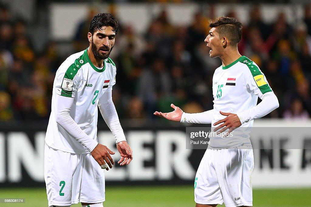Australia v Iraq - 2018 FIFA World Cup Qualifier : News Photo