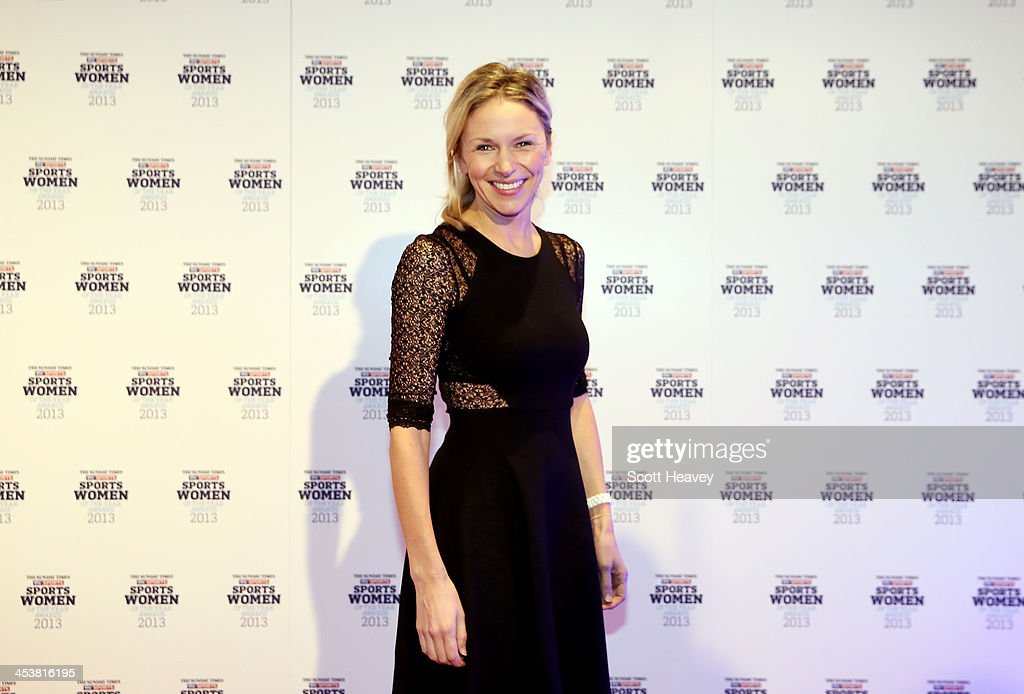 Di Dougherty attends The Sunday Times & Sky Sports Sportswomen of the Year awards at Sky on December 5, 2013 in Isleworth, England.