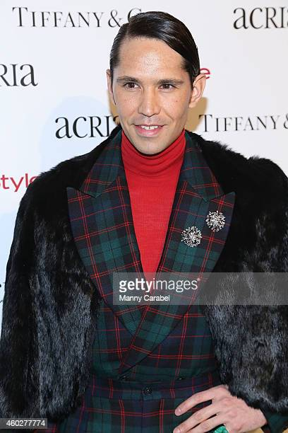Di Mondo attends ACRIA's 19th Annual Holiday Dinner Benefit at Skylight Modern on December 10 2014 in New York City