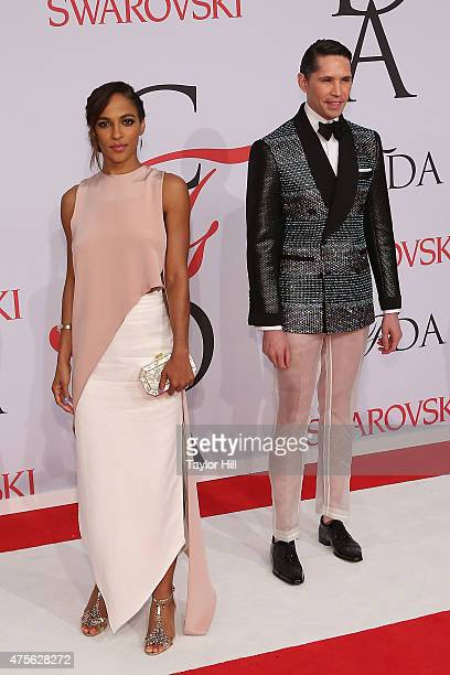 Di Mondo attends the 2015 CFDA Awards at Alice Tully Hall at Lincoln Center on June 1 2015 in New York City