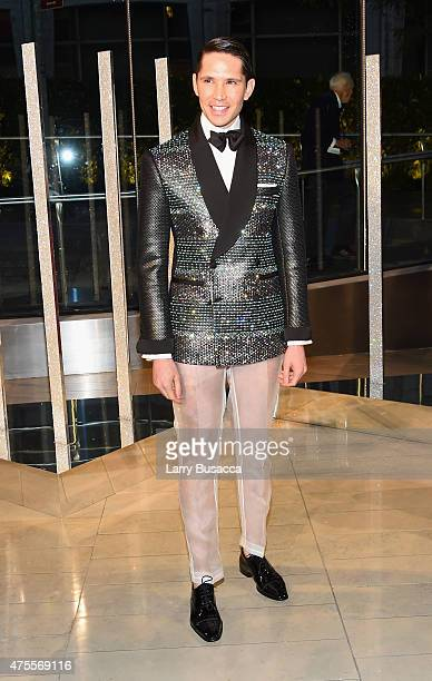 Di Mondo attends the 2015 CFDA Fashion Awards at Alice Tully Hall at Lincoln Center on June 1 2015 in New York City