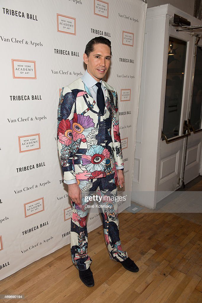 Di Mondo attends the 2015 Tribeca Ball at New York Academy of Art on April 13, 2015 in New York City.