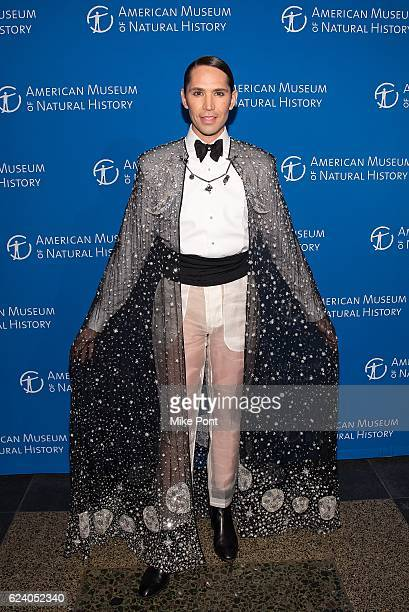 Di Mondo attends the 2016 American Museum Of Natural History Museum Gala at American Museum of Natural History on November 17 2016 in New York City