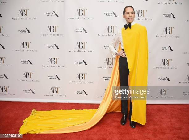 Di Mondo attends The American Ballet Theatre 2018 Fall Gala at David H Koch Theater Lincoln Center on October 17 2018 in New York City
