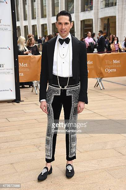 Di Mondo attends the American Ballet Theatre's 75th Anniversary Diamond Jubilee Spring Gala at The Metropolitan Opera House on May 18 2015 in New...