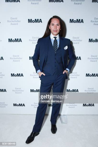 Di Mondo during the 2018 MoMA David Rockefeller Award Luncheon Honoring Oprah Winfrey on March 6 2018 in New York City