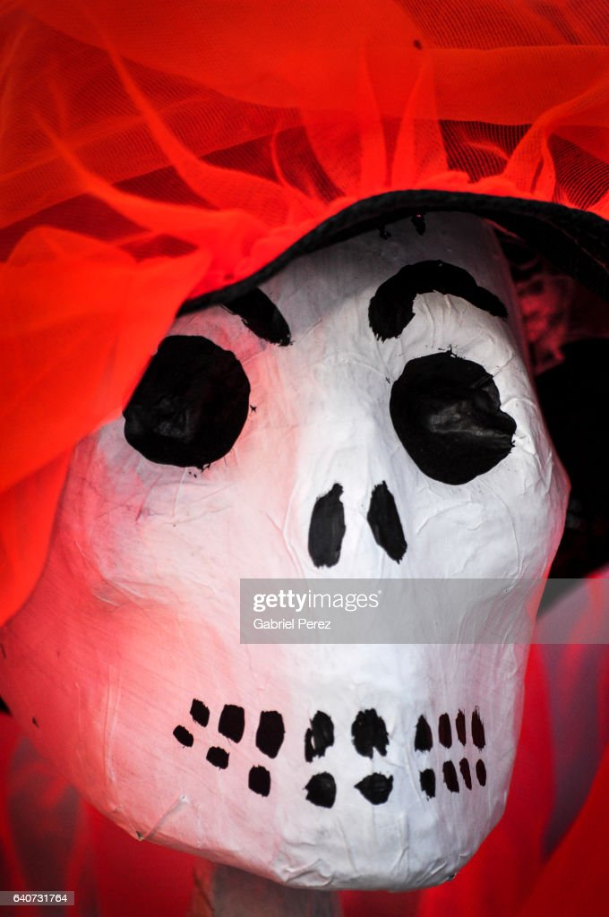Dia de los Muertos: A Celebration of Life in Mexico City : Stock Photo
