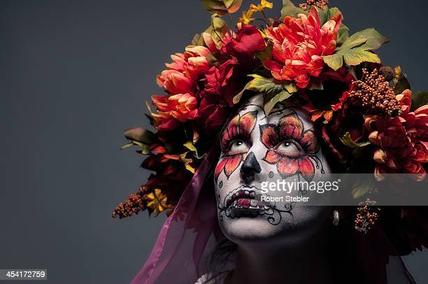 dia de los muertos - day of the dead stock pictures, royalty-free photos & images