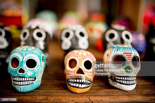 Dia de Muertos Souvenirs, San Miguel de Allende, Guanajuato, Mexico