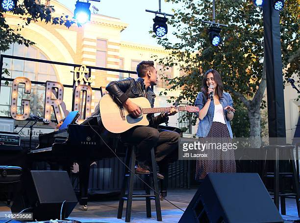 Dia Frampton performs at The Grove on July 25 2012 in Los Angeles California