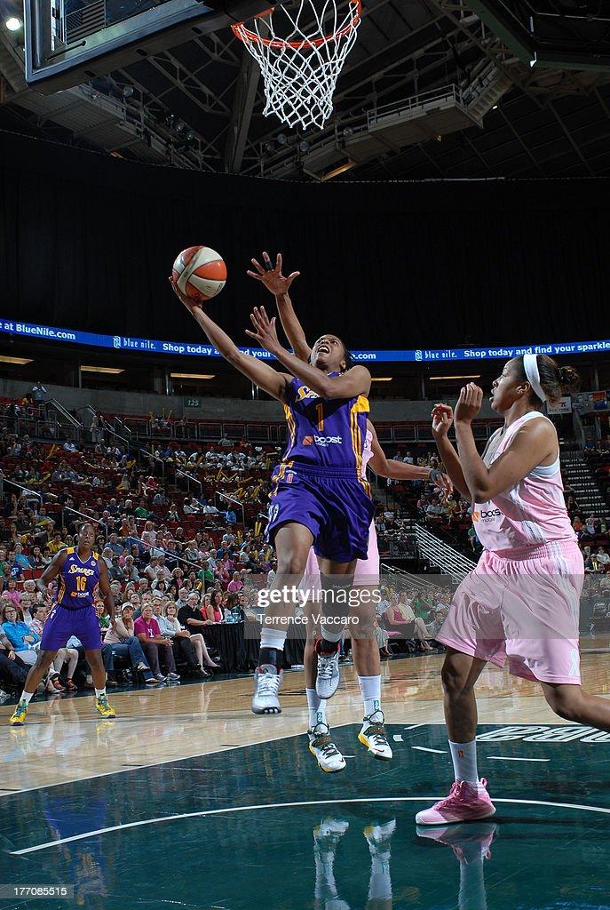 Los Angeles Sparks v Seattle Storm