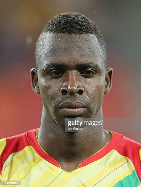 Diabate Cheick Tidiane of Mali during the 2013 Africa Cup of Nations Third Place PlayOff match between Mali and Ghana on February 9 2013 in Port...