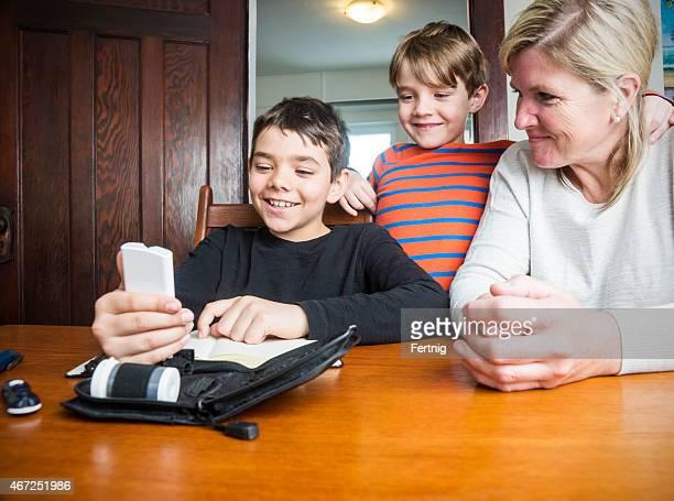 糖尿病お子様の血糖値の検査と家族