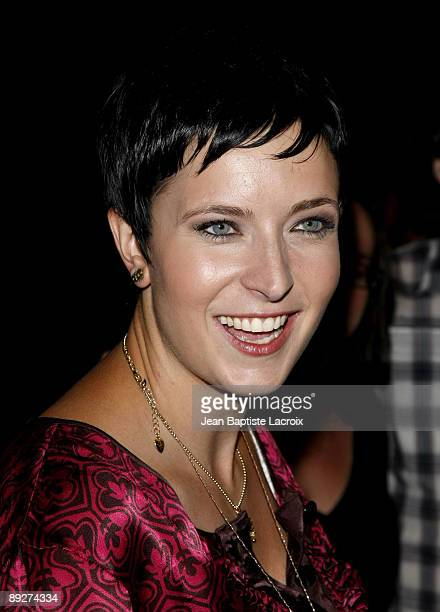 Diablo Cody arrives at the 'Jennifer's Body' ComicCon Party at Manchester Grand Hyatt on July 23 2009 in San Diego California