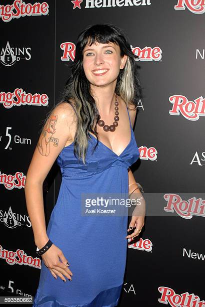 Diablo Cody arrives to the Rolling Stone Magazine celebration of their Annual Hot List at Crimson & Opera in Hollywood.