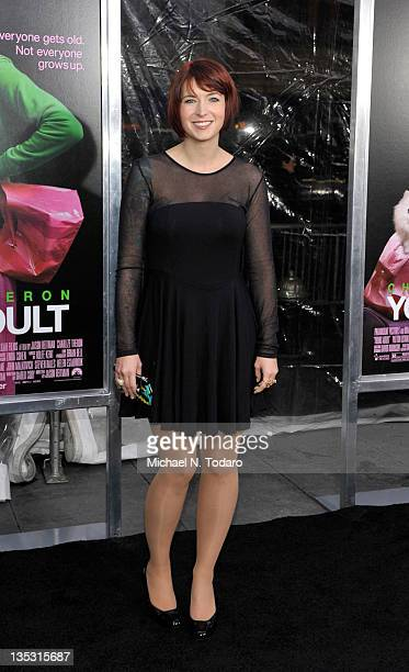 Diablo Cody attends the 'Young Adult' world premiere at the Ziegfeld Theatre on December 8 2011 in New York City