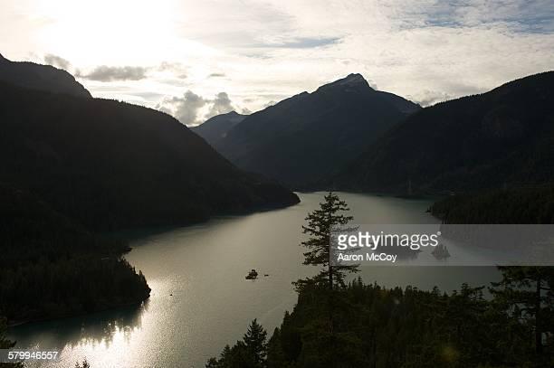 diablo lake - diablo lake - fotografias e filmes do acervo