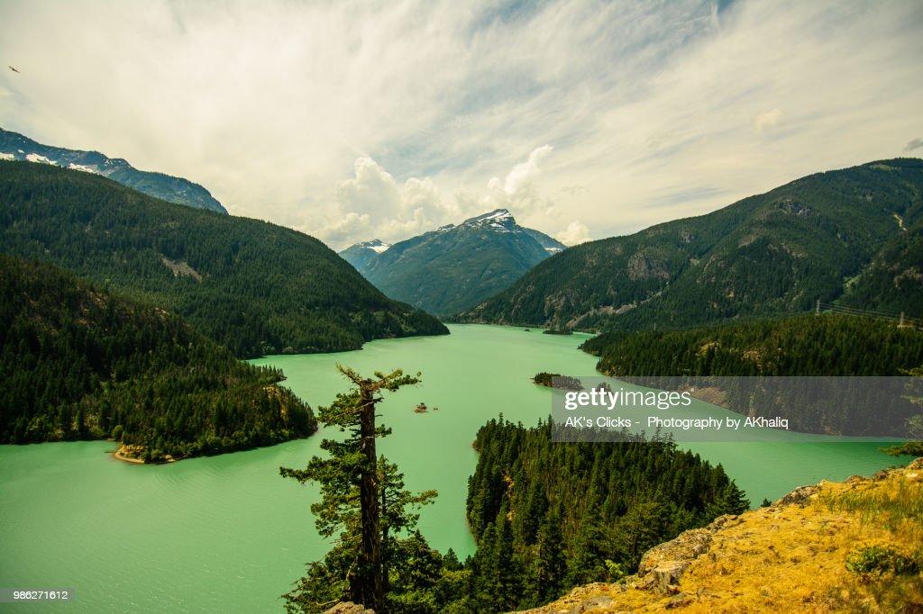Diablo Lake : Foto de stock