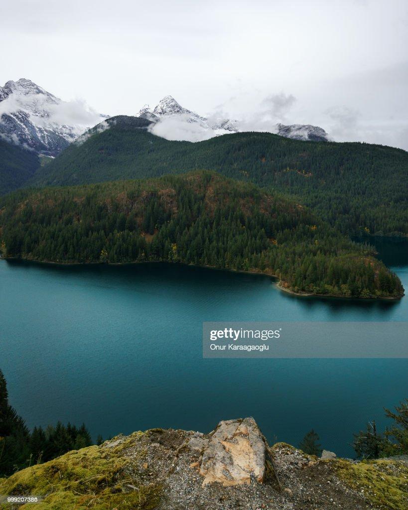 Diablo Lake : Stock Photo