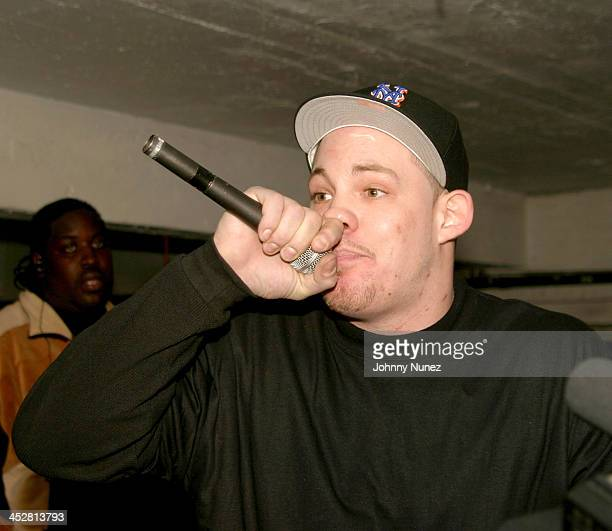 Diabolical during Fight Club November 8 2004 at Secret Headquarters in New York City New York United States