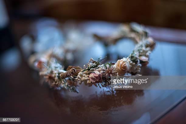 Diadem with flowers