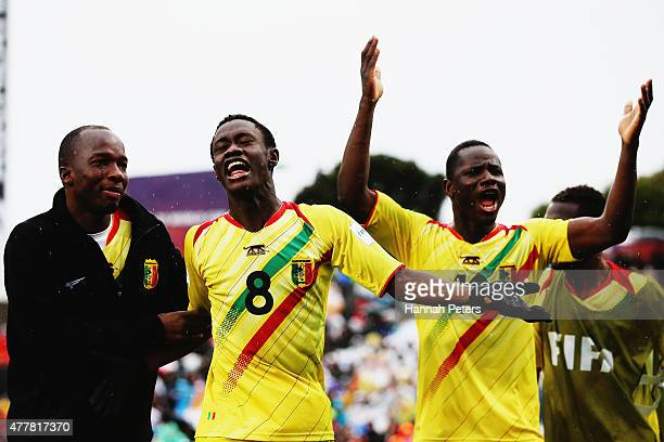 Diadie Samassekou of Mali celebrates after scoring a goal during the FIFA U-20 World Cup Third Place Play-off match between Senegal and Mali at North...