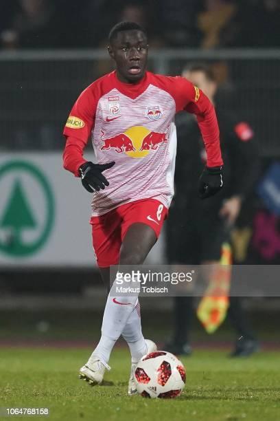 Diadie Samassekou of RB Salzburg during the tipico Bundesliga match between TSV Hartberg and RB Salzburg at Profertil Arena on November 24 2018 in...
