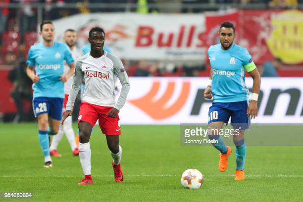 Diadie Samassekou of Salzburg during the Semi Final Second Leg Europa League match between RB Salzburg and Marseille at Red Bull Arena on May 3 2018...