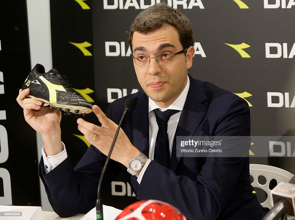 Diadora President Enrico Moretti Polegato attends the Diadora Press Conference held at Diadora Store on April 23, 2010 in Milan, Italy.