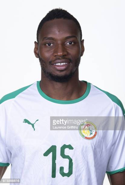 Diafra Sakho of Senegal poses for a portrait during the official FIFA World Cup 2018 portrait session at the Team Hotel on June 13 2018 in Kaluga...