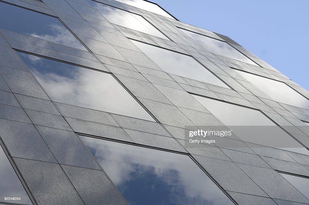 diagonal abstract architecture : Stock Photo