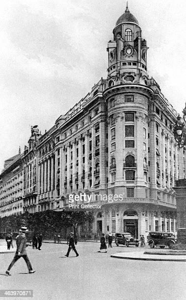 Diagonal Norte Avenida Roque Saenz Pena Buenos Aires Argentina c1920s