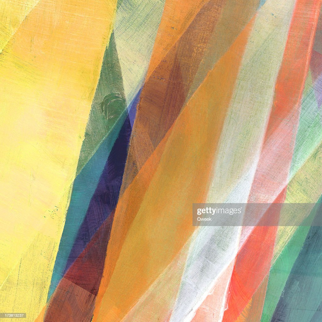 Diagonal Painted Abstract : Stock Photo
